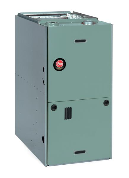 rheem rgle series gas furnace review