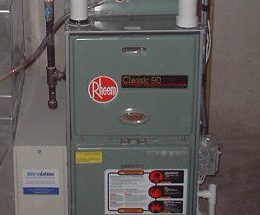 Home Gas Furnace